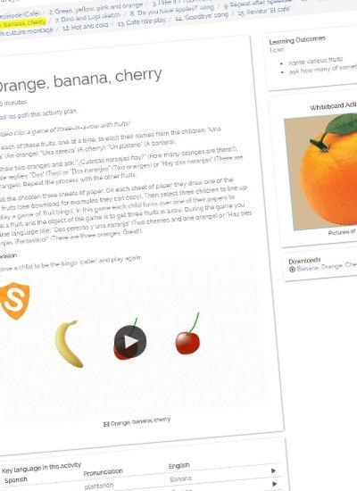 Try Orange, Banana, Cherry free