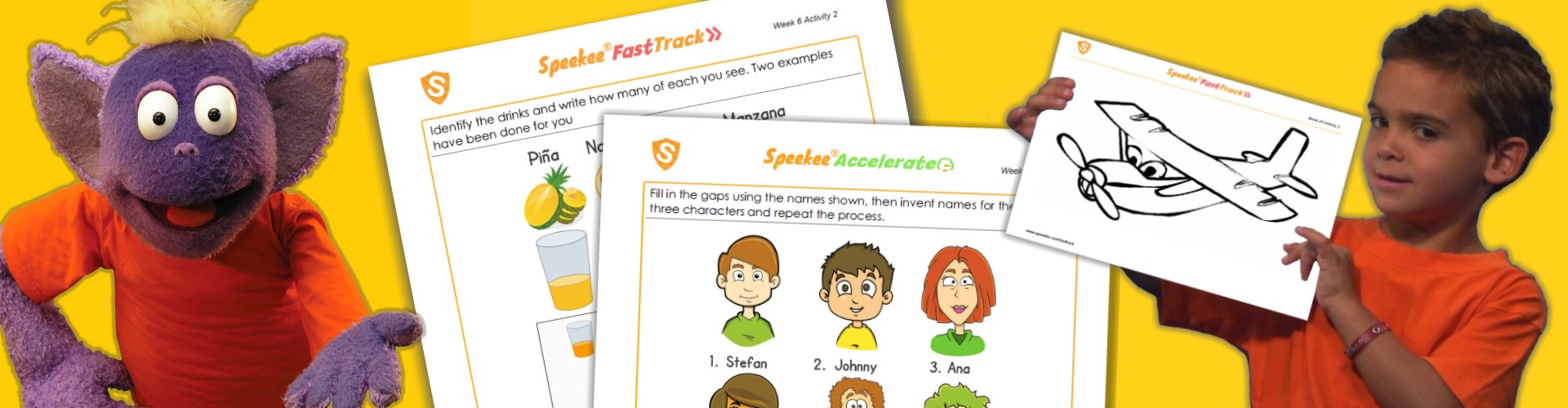 Free Spanish printables for kids