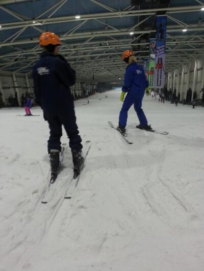 Xanadu skiiing