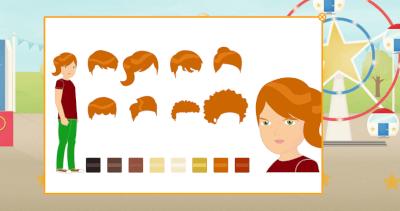 customising avatars in Speekee Play