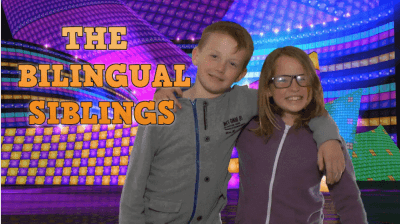 Bilingual siblings