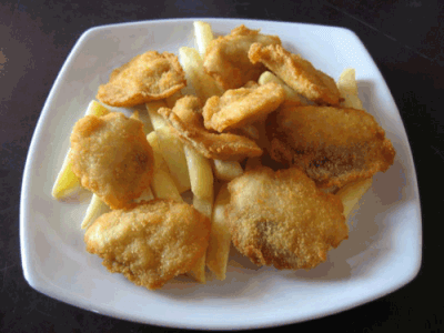 Tapas: Lagrimas de pollo