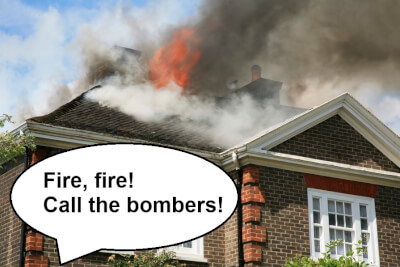 Spanish false friend: Bomberos