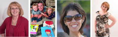 Ann Morris, Cheryl Sánchez, María Babin, Rita Rosenback