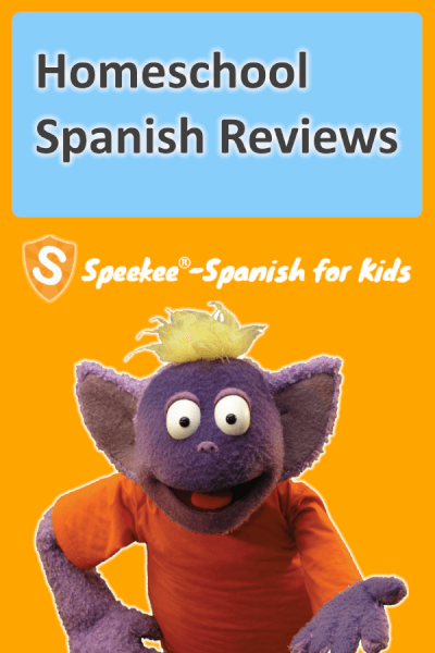 Speekee home school Spanish reviews banner