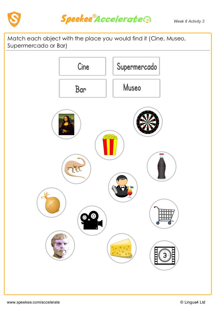 Spanish practice for kids