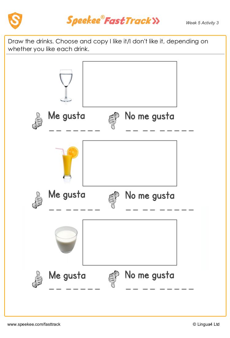 I like in spanish