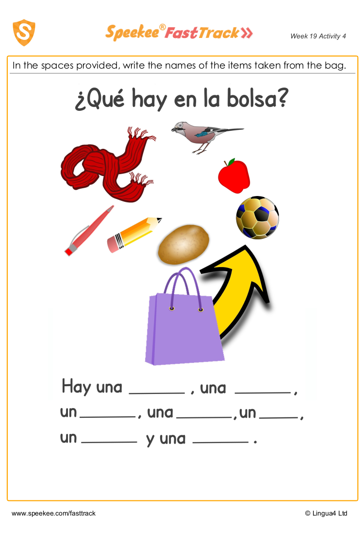 Spanish teacher worksheets