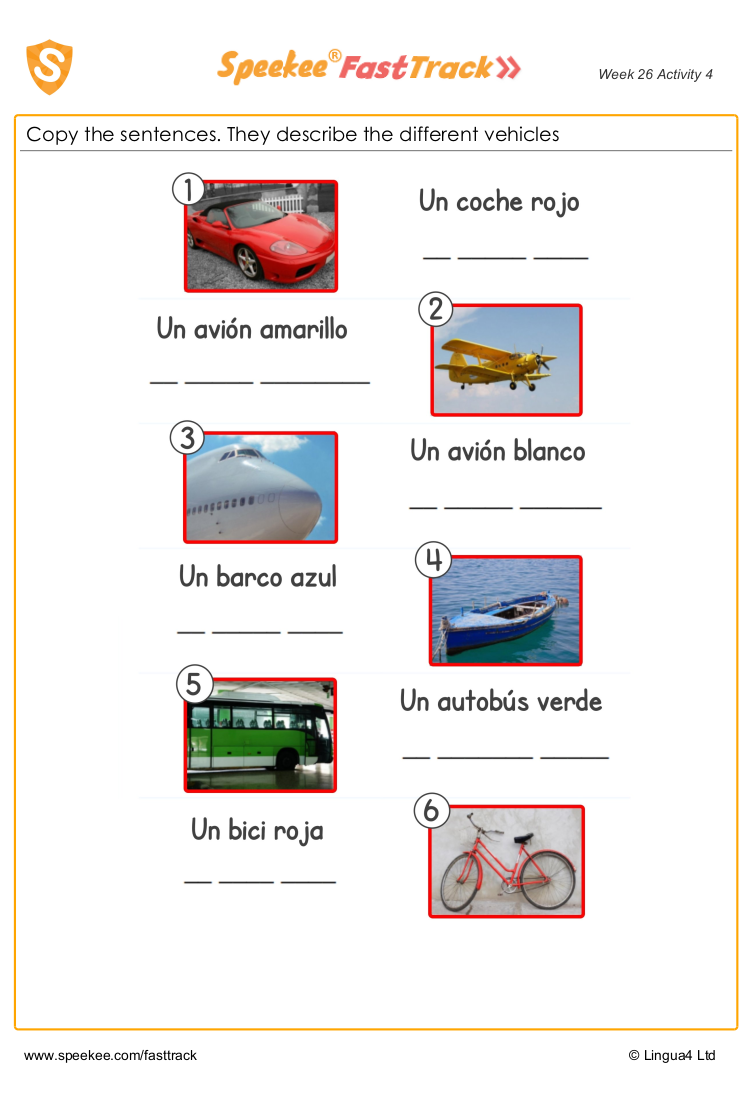 Transport in Spanish