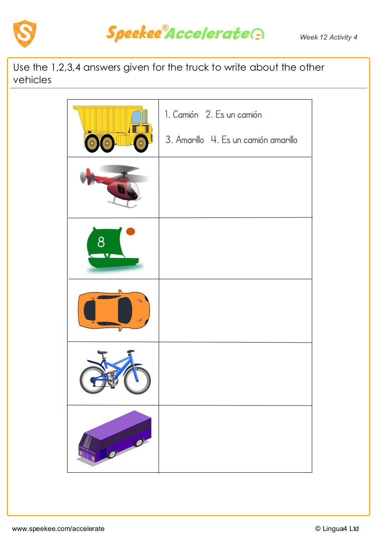 Vehicle descriptions