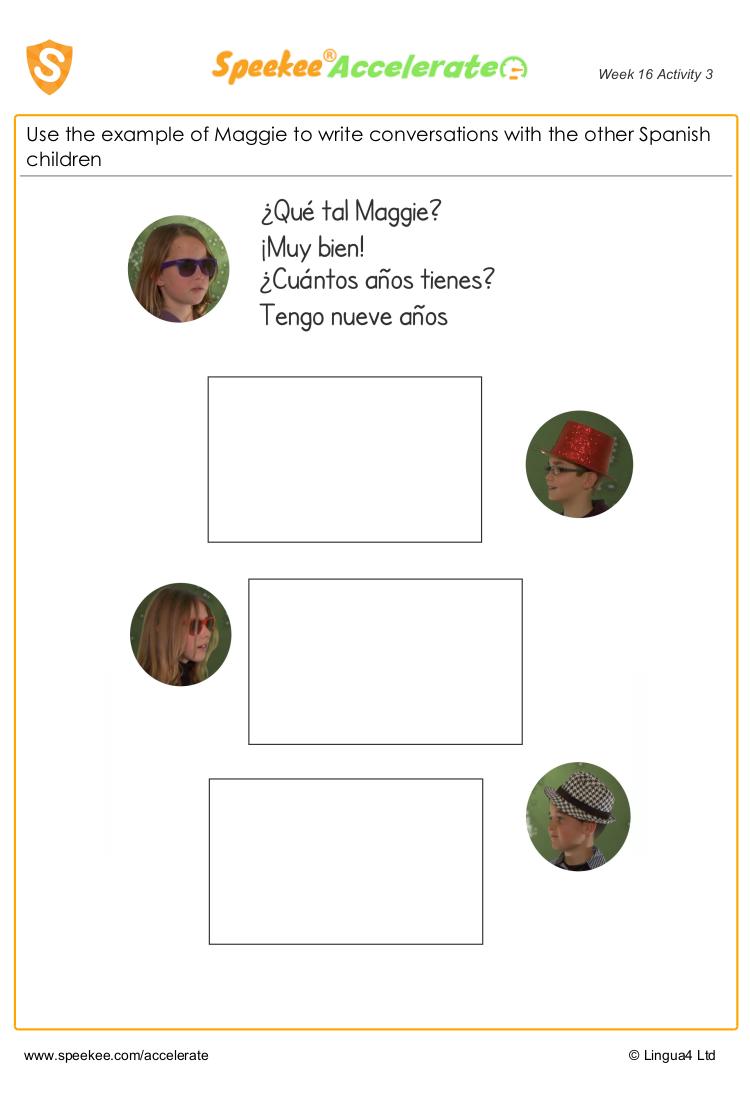 Spanish conversations 2
