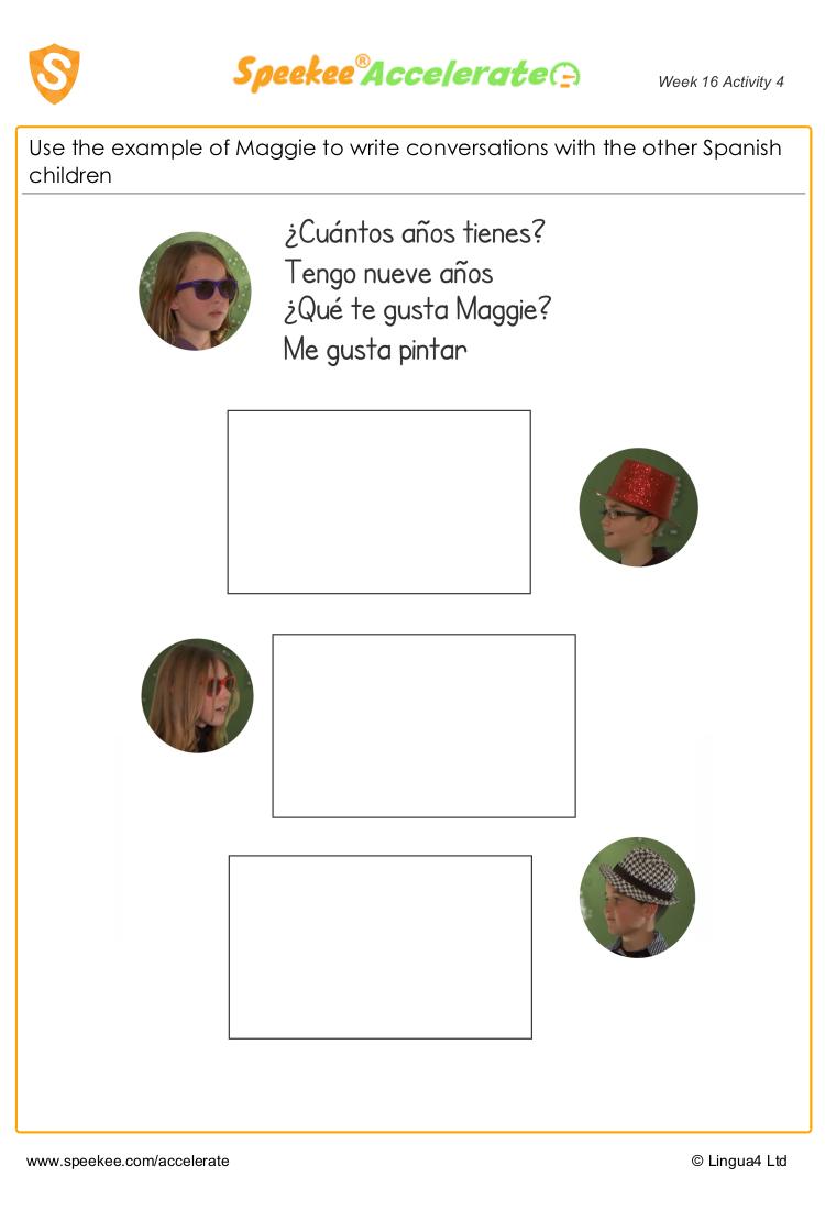 Spanish conversations 3