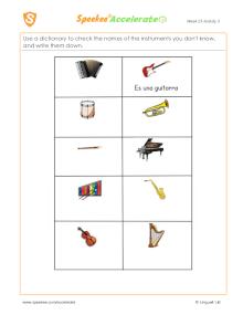 ¿Qué instrumento es?